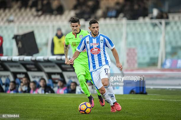 Gianluca Caprari during the Italian Serie A football match Pescara vs Cagliari on December 04 in Pescara Italy