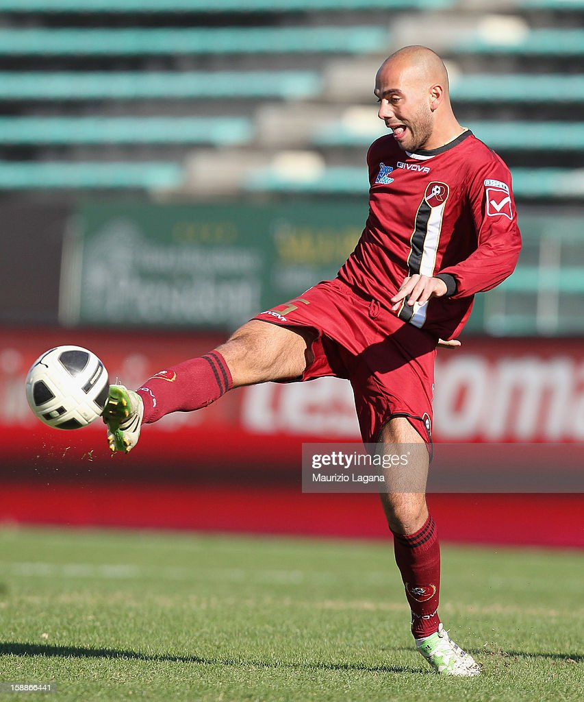 Gianluca Freddi of Reggina during the Serie A match between Reggina Calcio and Empoli FC at Stadio Oreste Granillo on December 30, 2012 in Reggio Calabria, Italy.