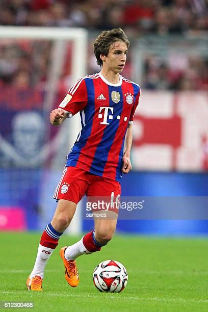 Gianluca Gaudino FC Bayern München Muenchen 1 Bundesliga Fussball FC Bayern München VFL Wolfsburg 21 Saison 2014/ 2015
