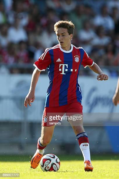 Gianluca Gaudino FC Bayern München Muenchen Testspiel Traumspiel 1 Bundesliga Fussball FC Bayern München Red Baroons FC Memmingen Saison 2014 / 2015