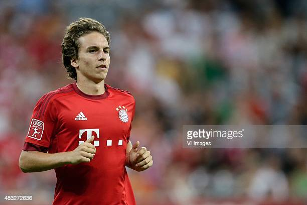Gianluca Gaudino of FC Bayern Munchen during the AUDI Cup match between FC Bayern Munich and AC Milan on August 4 2015 at the Allianz Arena in Munich...