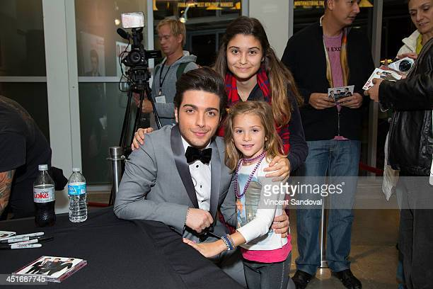 Gianluca Ginoble of Il Volo attends the HGTV Holiday House KickOff at Santa Monica Place with performance by Il Volo at Santa Monica Place on...