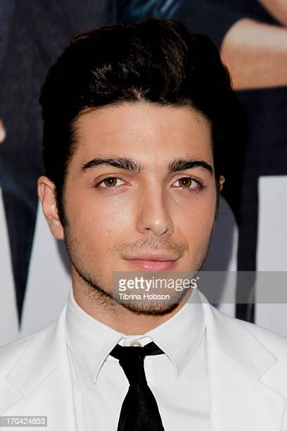 Gianluca Ginoble of Il Volo sign copies of their new album 'We Are Love' at Barnes Noble 3rd Street Promenade on June 12 2013 in Santa Monica...