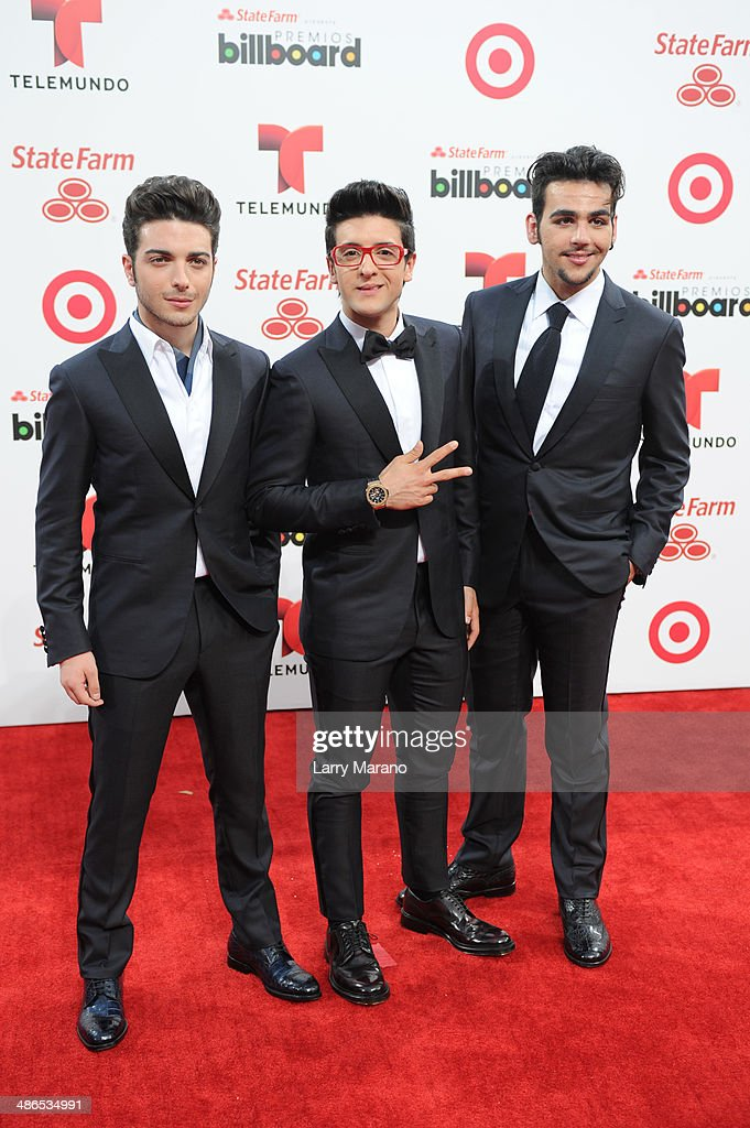 <a gi-track='captionPersonalityLinkClicked' href=/galleries/search?phrase=Gianluca+Ginoble&family=editorial&specificpeople=5945022 ng-click='$event.stopPropagation()'>Gianluca Ginoble</a>, <a gi-track='captionPersonalityLinkClicked' href=/galleries/search?phrase=Piero+Barone&family=editorial&specificpeople=5945024 ng-click='$event.stopPropagation()'>Piero Barone</a> and <a gi-track='captionPersonalityLinkClicked' href=/galleries/search?phrase=Ignazio+Boschetto&family=editorial&specificpeople=5945023 ng-click='$event.stopPropagation()'>Ignazio Boschetto</a> of Il Volo attend the 2014 Billboard Latin Music Awards at Bank United Center on April 24, 2014 in Miami, Florida.