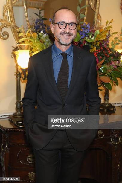 Gianluca Longo attends Giampiero Bodino's 'Beauty Is My Favourite Colour' cocktails and dinner evening at Spencer House on October 11 2017 in London...