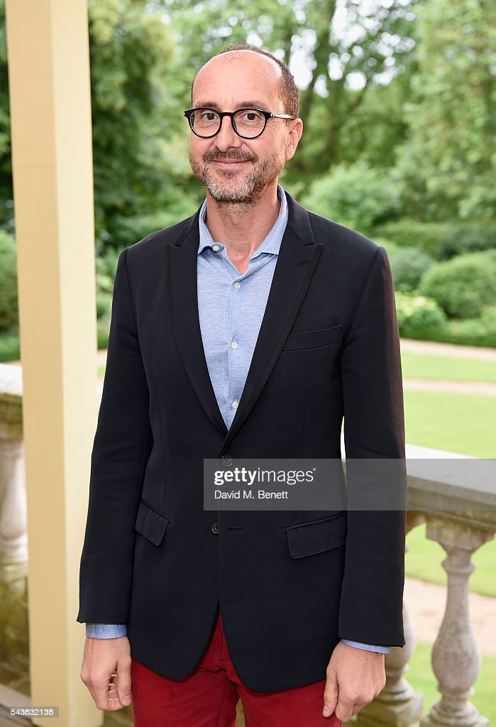 Gianluca Longo attends the Creatures of the Wind Resort 2017 collection and runway show presented by Farfetch at Spencer House on June 29, 2016 in London, England.