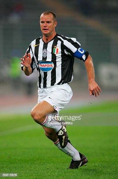 Gianluca Pessotto of Juventus during the UEFA Champions League Group A match between Juventus and Rapid Vienna on September 15 2005 at the Stadio...