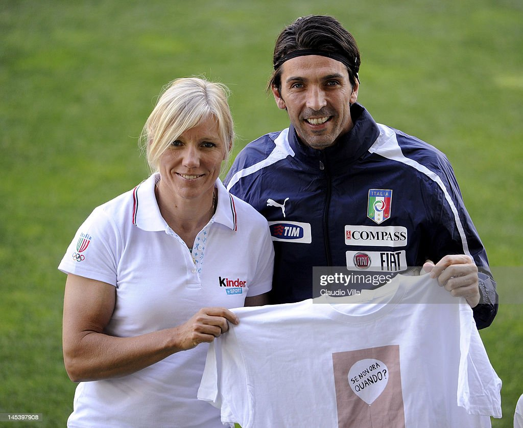 Italy Training Session & Press Conference in Parma