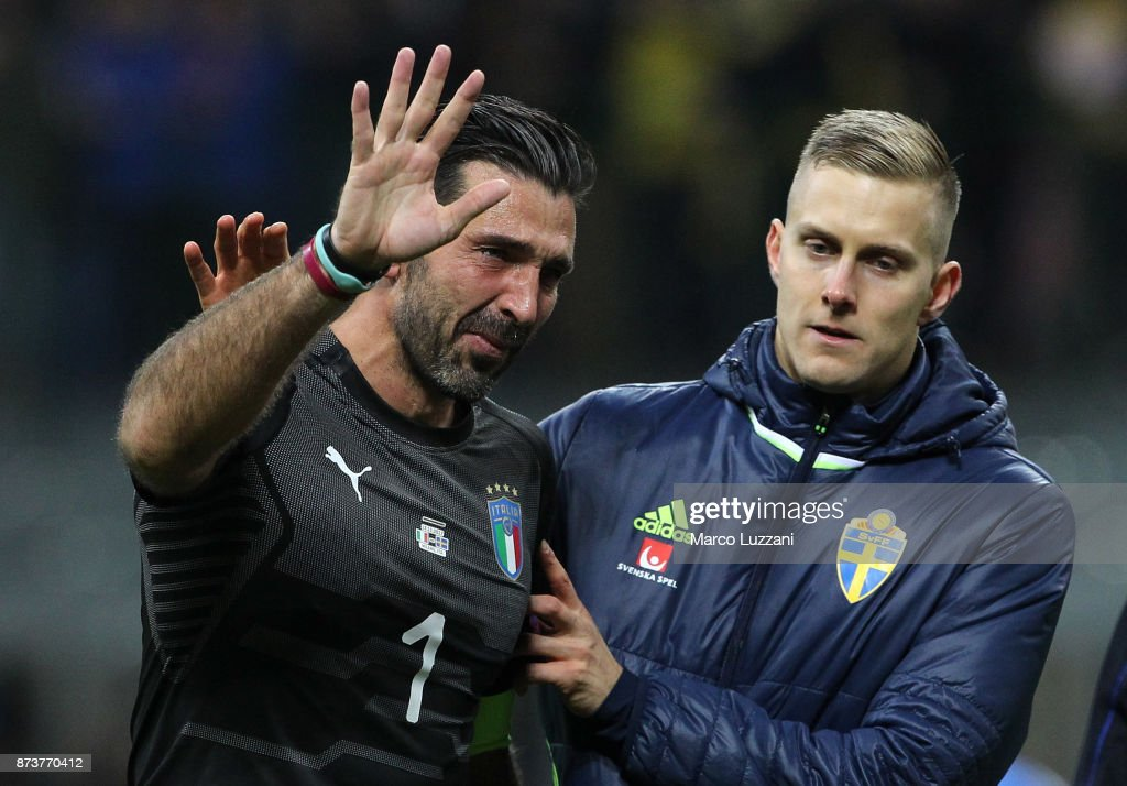 Italy v Sweden - FIFA 2018 World Cup Qualifier Play-Off: Second Leg
