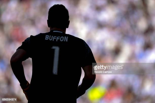 Gianluigi Buffon of Juventus FC is pictured during the Serie A football match between Juventus FC and FC Crotone Juventus FC wins 30 over FC Crotone
