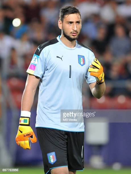 Gianluigi Donnarumma during the UEFA European Under21 match between Denmark and Italy at Cracovia stadium on June 18 2017 in Krakow Poland