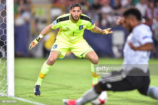 Gianluigi Donnarumma during the UEFA European Under21 match between Italy and Germany on June 24 2017 in Krakow Poland