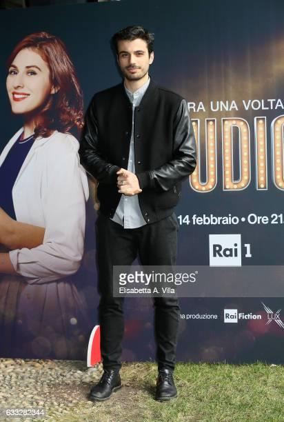 Gianmarco Saurino attends a photocall for 'C'Era Una Volta Studio 1' at Rai Viale Mazzini on February 1 2017 in Rome Italy