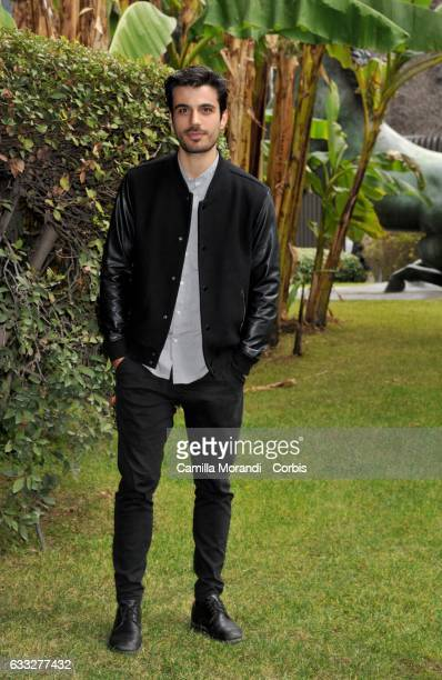 Gianmarco Saurino attends a photocall for 'C'Era Una Volta Studio 1' on February 1 2017 in Rome Italy