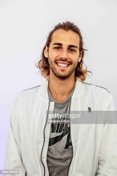 Gianmarco Tamberi attends Wired Next Fest 2017 at Giardini Indro Montanelli on May 27 2017 in Milan Italy