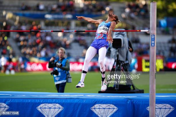 Gianmarco Tamberi of Italy High Jump during the Meeting de Paris of the IAAF Diamond League 2017 on July 1 2017 in Paris France