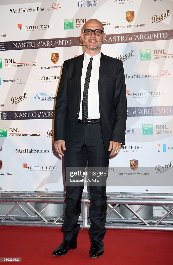 <a gi-track='captionPersonalityLinkClicked' href=/galleries/search?phrase=Gianmarco+Tognazzi&family=editorial&specificpeople=4595741 ng-click='$event.stopPropagation()'>Gianmarco Tognazzi</a> attends Nastri D'Argento 2016 Award Nominations at Maxxi on May 31, 2016 in Rome, Italy.