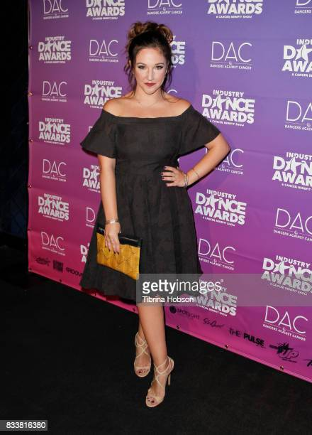 Gianna Martello attends the 2017 Industry Dance Awards and Cancer Benefit Show at Avalon on August 16 2017 in Hollywood California