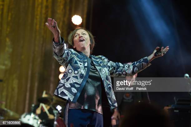 Gianna Nannini performs at L'Olympia on April 22 2017 in Paris France