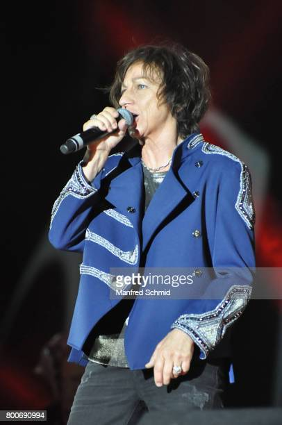 Gianna Nannini performs on stage a 'Falco Tribute' during the Day 2 at Donauinselfest 2017 at Donauinsel on June 24 2017 in Vienna Austria