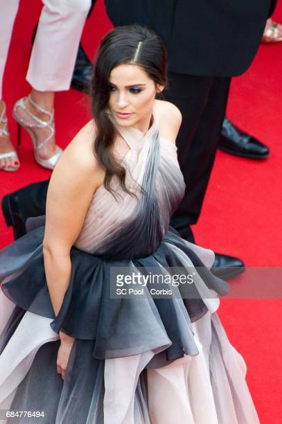 Gianna Simone attends the 'Loveless ' screening during the 70th annual Cannes Film Festival at Palais des Festivals on May 18 2017 in Cannes France