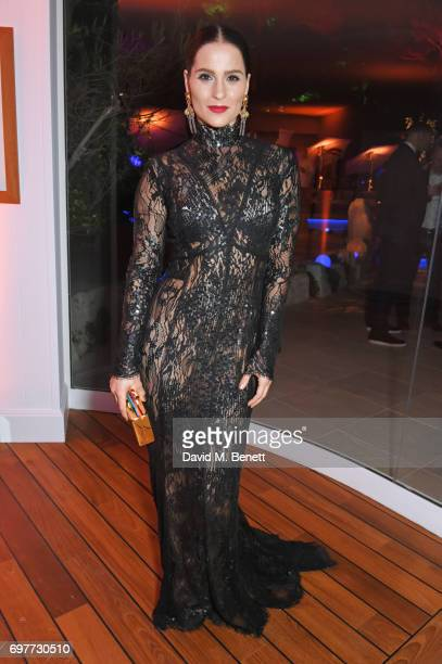 Gianna Simone attends the Vanity Fair and Chopard Party celebrating the Cannes Film Festival at Hotel du CapEdenRoc on May 20 2017 in Cap d'Antibes...