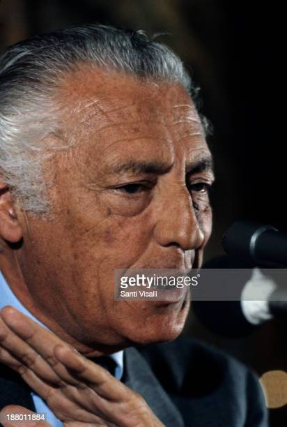 Gianni Agnelli head of Fiat on April 4 1979 in New York New York