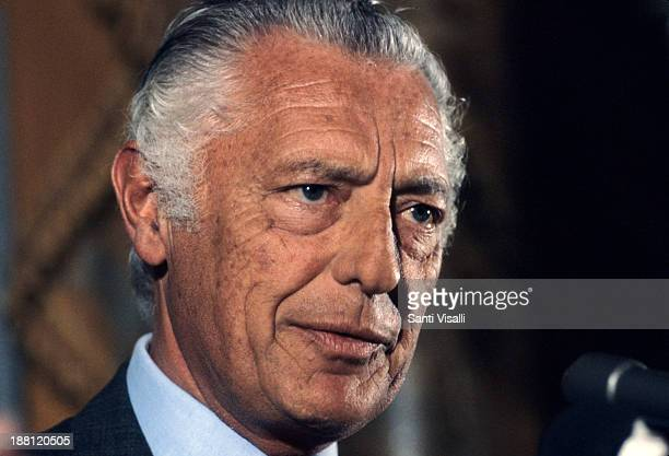 Gianni Agnelli posing for a portrait on April 4 1979 in New York New York