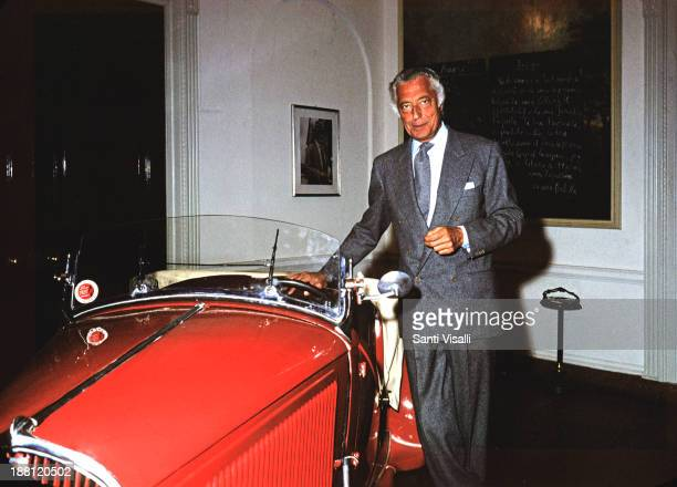 Gianni Agnelli posing for a portrait on May 5 1975 in New York New York