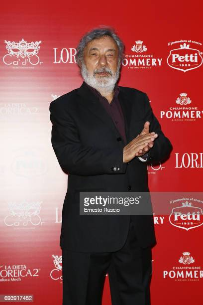Gianni Amelio attends Ciak D'Oro 2017 at Link Campus University on June 8 2017 in Rome Italy