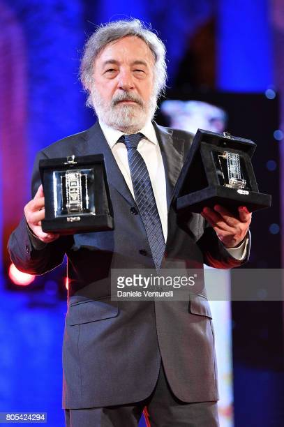 Gianni Amelio attends Nastri D'Argento 2017 Awards Ceremony on July 1 2017 in Taormina Italy