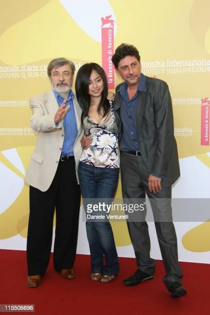 Gianni Amelio director Tai Ling and Sergio Castellitto