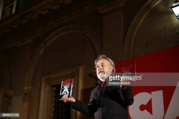 Gianni Amelio receive the Ciak D'Oro 2017 award at Link Campus University on June 8 2017 in Rome Italy