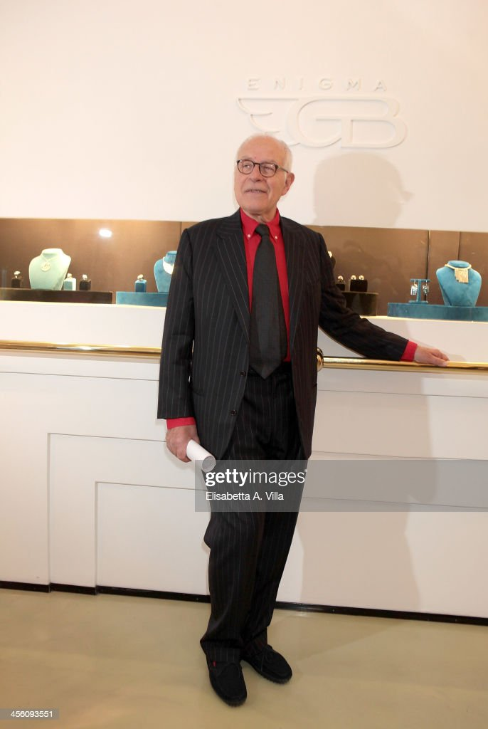 Gianni Bulgari attends the 'Luce Preziosa' presentation at the GB ENIGMA by Gianni Bulgari boutique on December 13, 2013 in Rome, Italy. Luce Preziosa is an inspiring christmas jewellery and light TechoArt opera by the artist Geo Florenti.