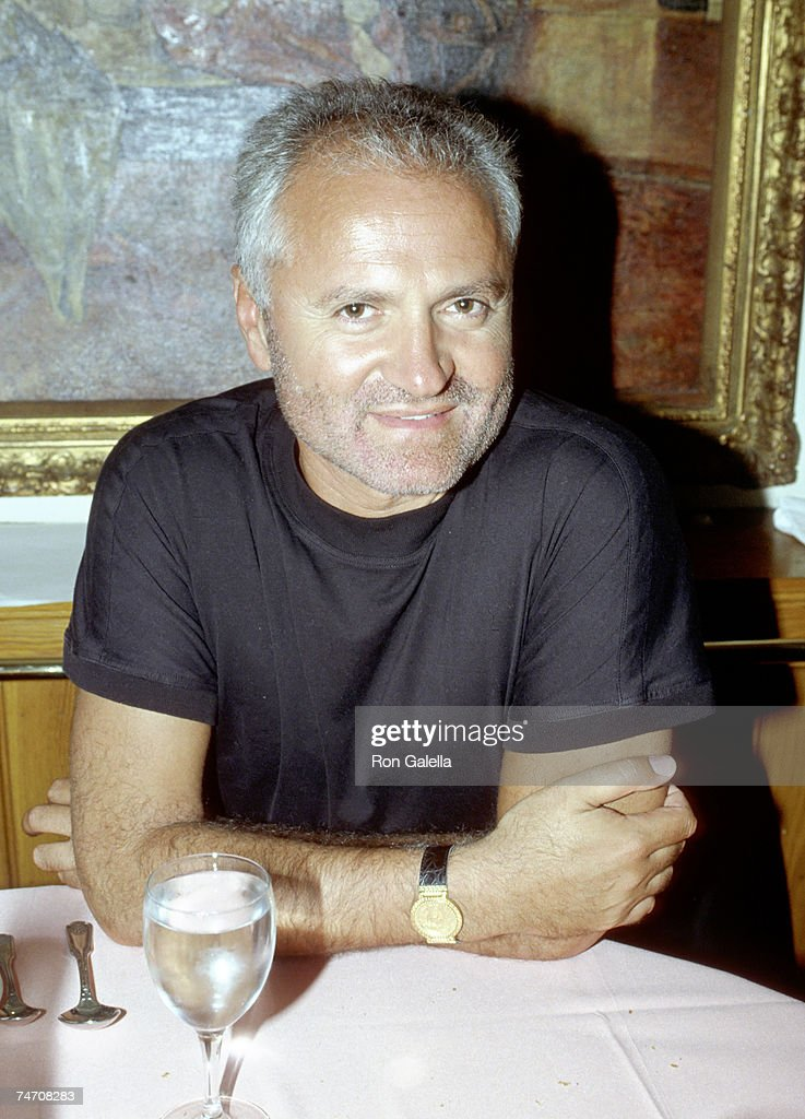 Gianni Versace at the 3rd Floor of Loft Wooster Street in New York New York