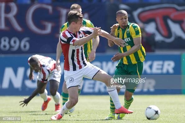 Gianni Zuiverloon of ADO Den Haag during the Dutch Eredivisie match between Willem II Tilburg and ADO Den Haag at Koning Willem II stadium on May 10...