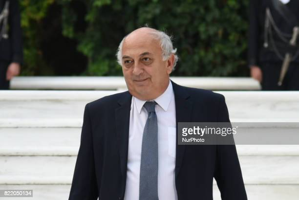 Giannis Amanatidis deputy Minister of Foreign Affairs on the occasion of the 43rd anniversary of restoration of Democracy at the Presidential Palace...