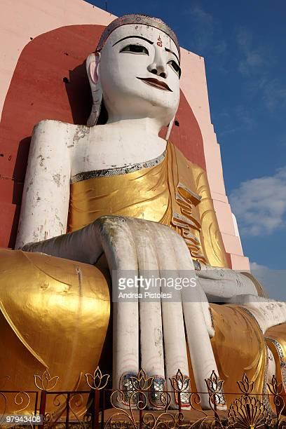 Giant Buddha in Bago, Myanmar