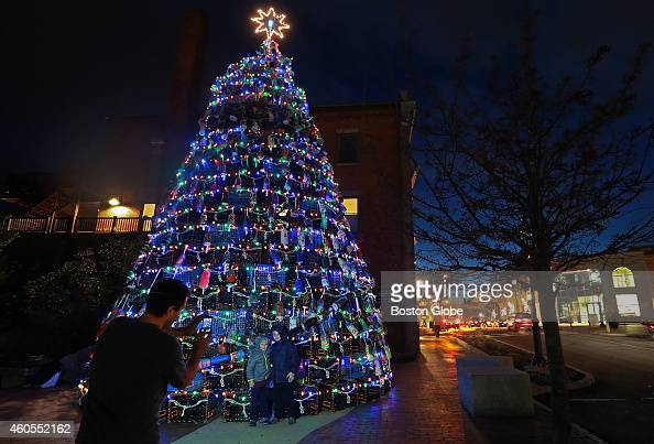 Gloucester Tradition Cast In New Light With Lobster Trap Menorah Pictures   Getty Images