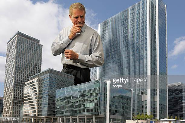 giant mature businessman