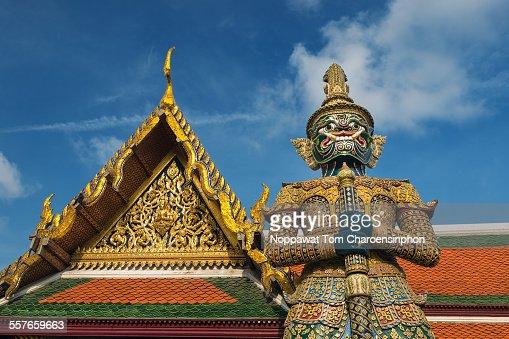 Giant of Wat Phra Kaew Bangkok