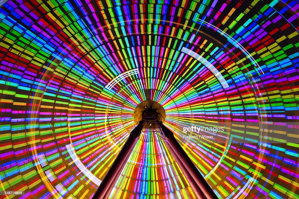 Giant Sky Wheel at Birrarung Marr.
