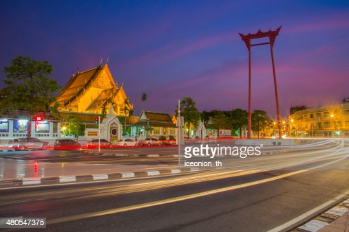 Giant Swing in Bangkok, Thailand : Stock Photo