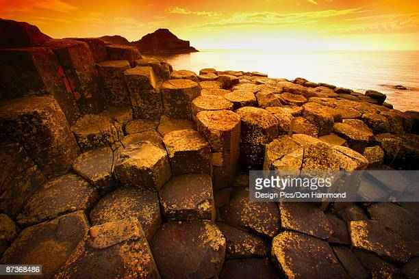 Giant's Causeway and Sea