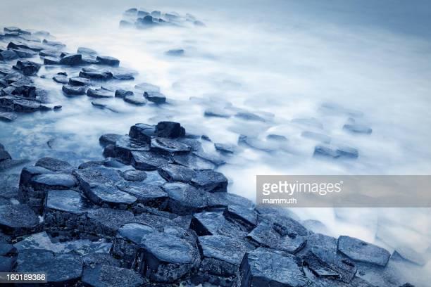 Giant's Causeway long exposure shot