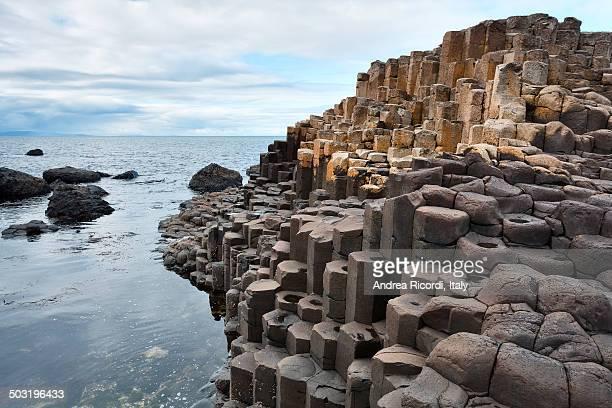 Giant's causeway, Northern Ireland coast