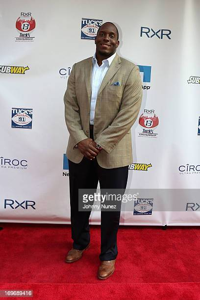 Giants Kevin Boothe attends the NY Giants Justin Tuck's 5th Annual Celebrity Billiards Tournament on May 30 2013 in New York City