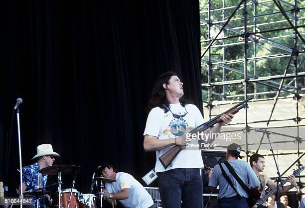 Gibby Haynes of Butthole Surfers perform at Lollapalooza New York August 11 1991