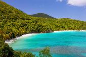 Gibney Beach and Hawksnest Bay, Saint John, US Virgin Islands