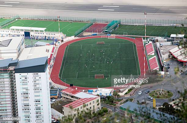 Gibraltar British territory in southern Spain Victoria stadium venue for international soccer matches Gibraltar has been accepted by FIFA for...